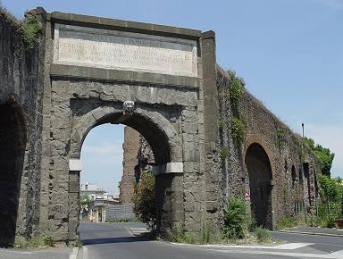 Monografie romane acquedotti iii parte pagina 2a - Palestra porta furba ...