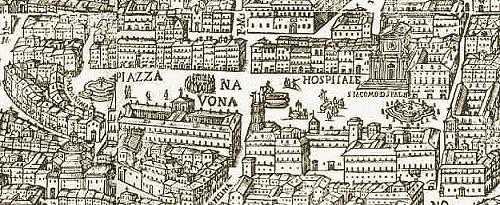 Roman Monographs Fountains Part III Main Fountains Page - Rome map cartoon