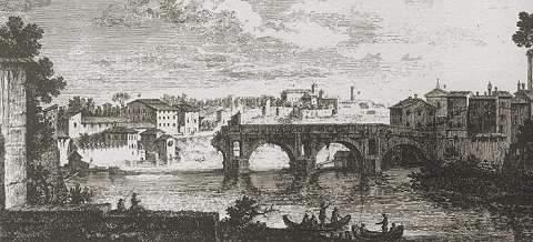 C 39 era una volta a roma ponte rotto for Ca roma volta mantovana